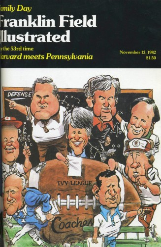 1982 Harvard FFI Cover