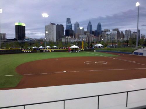 Penn Park softball
