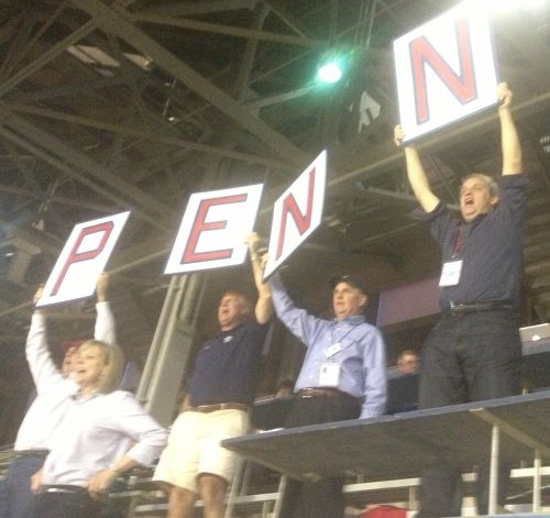 Pretty good Penn spirit, huh?