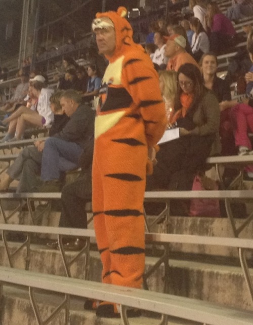 Just a Princeton fan minding his own business.