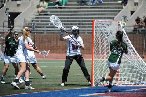 Dartmouth was no match for Penn goalie Lucy Ferguson (courtesy of Penn Athletics)