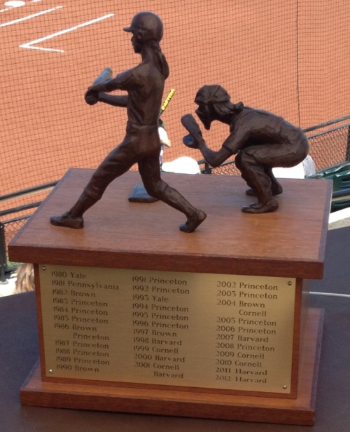 "For the first time since 1981, the word ""Pennsylvania"" will be inscribed on this trophy"