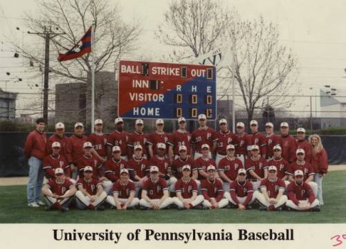 The 1995 Penn baseball team was the last one to  win Ivy League championship. Yurkow hopes that will change.